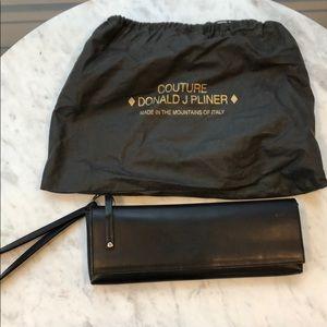Donald Pliner Leather Clutch